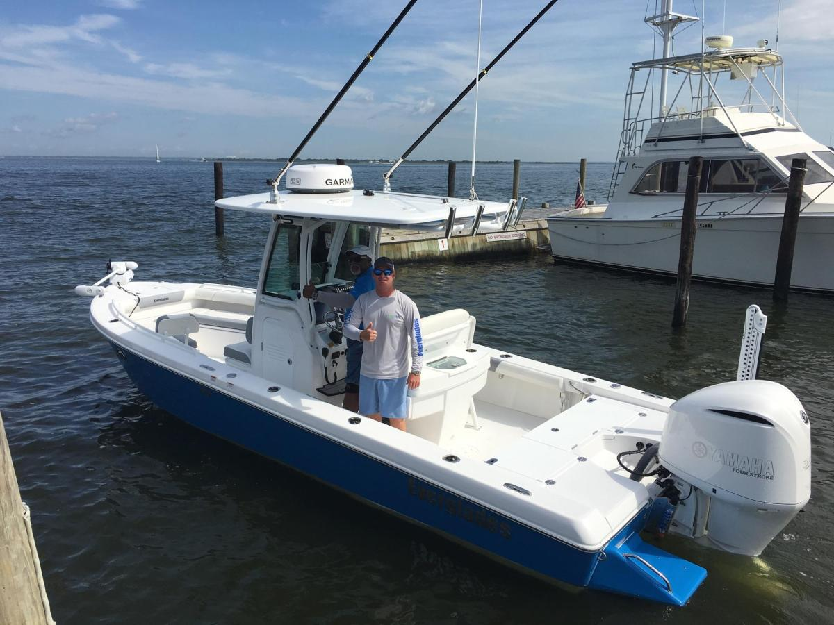 Welcome Aboard Mr. Welch.  Caribbean Blue 253cc