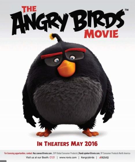 Ya tenemos movie de Angry Birds