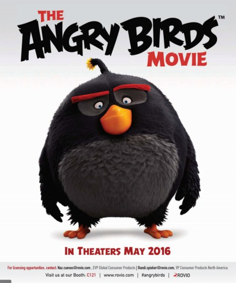 Ya tenemos movie de Angry Birds