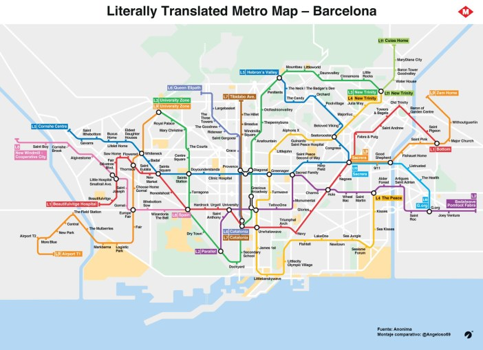 Metro English por Angeloso69