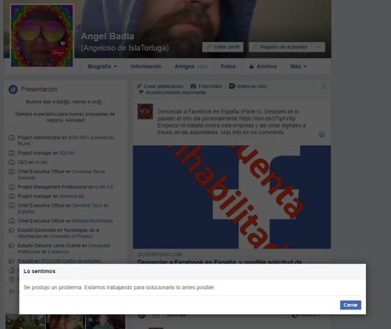 Denunciar a Facebook en España (Parte II)