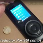 Traductor Portatil con Inteligencia Artificial