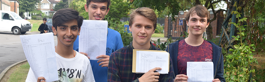 GCSE Results 2016 – Record Progress