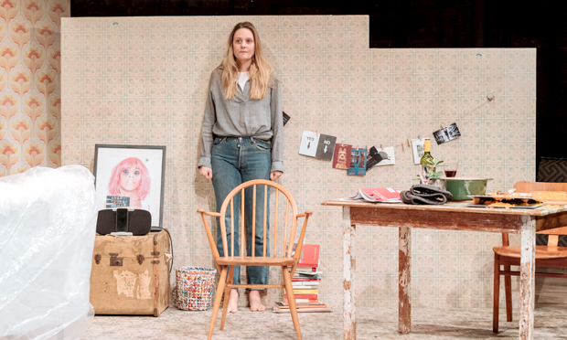Writer's block: Romola Garai as the playwright in Ella Hickson's new drama at the Almeida. Photographs: Manuel Harlan