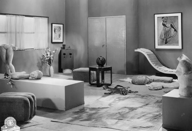 Carlo Levi and Enrico Paulucci's set design for Patatrac (Dir. Gennaro Righelli, 1931) Image courtesy Collezione Museo Nazionale del Cinema, Turin
