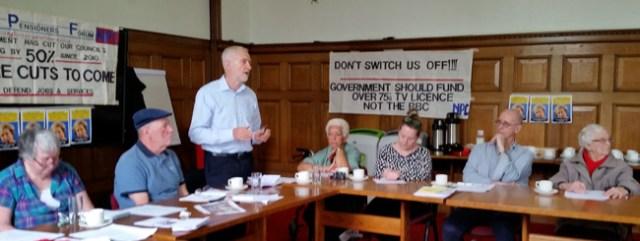 Islington Pensioners Forum AGM