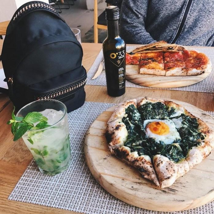 In need of this green pizza again  Necesitando estahellip