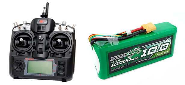 3d robotics x8 transmitter