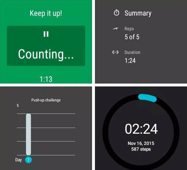 Google Fit Challenge Mode