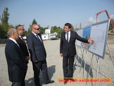 İsmayıllıda Cüdo Mərkəzinin inşasına start verildi