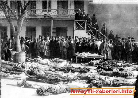İsmayıllıda 1918-ci il erməni vəhşilikləri