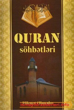 """Hikmət Əhmədov  –"""" """"Quran söhbətləri"""" kitabı"""