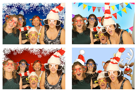 Christmas Photo Booth Dorset