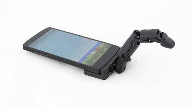 Akıllı Telefon İçin Robotik Parmak Aksesuarı Yapıldı!