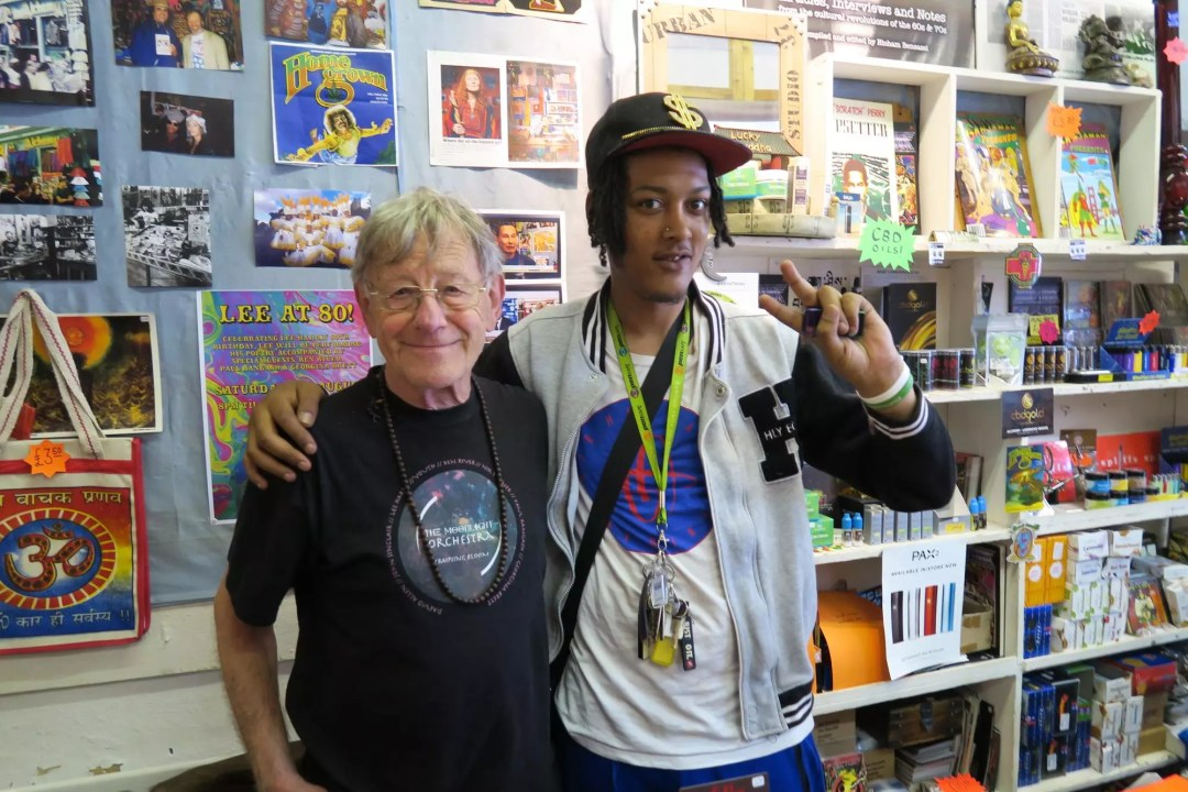 Lee Harris, ISMOKE Meets Lee Harris Owner of London's Oldest Head Shop