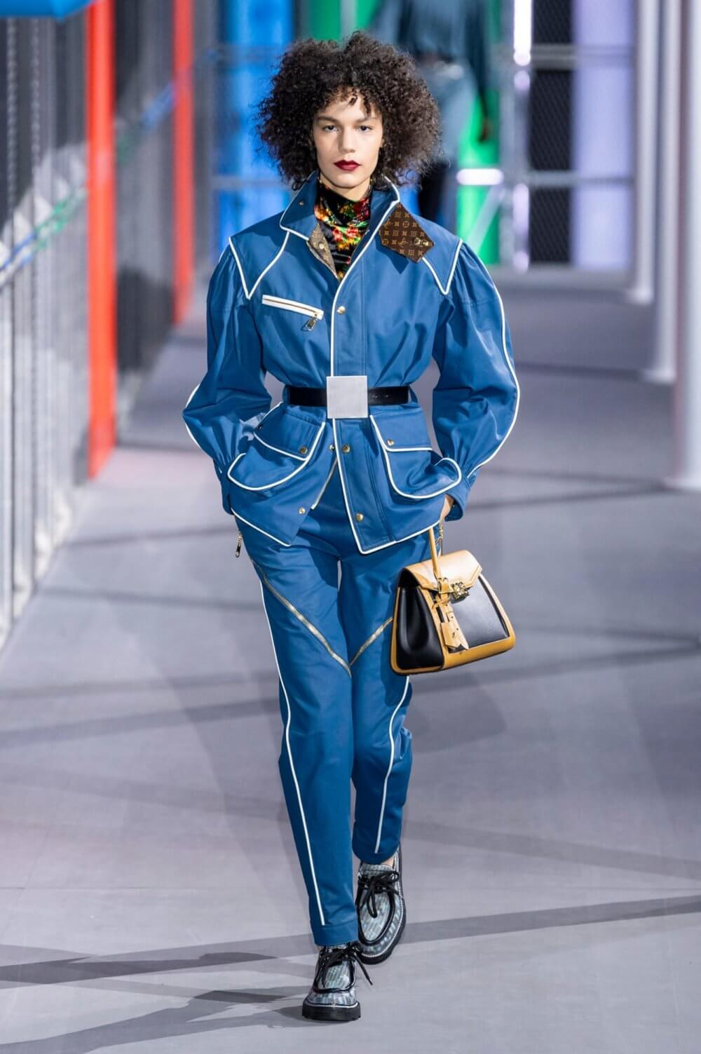 Louis Vuitton Fall/Winter 2019. Imagen: Imaxtree