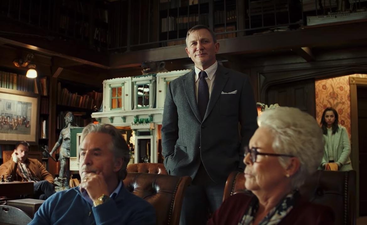 """""""Knives Out"""": Daniel Craig busca al asesino de este thriller de misterio al estilo Agatha Christie"""