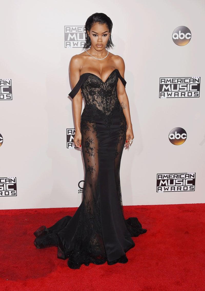 Teyana Taylor en los American Music Awards 2016. Fotografía: Frederick M. Brown/Getty Images