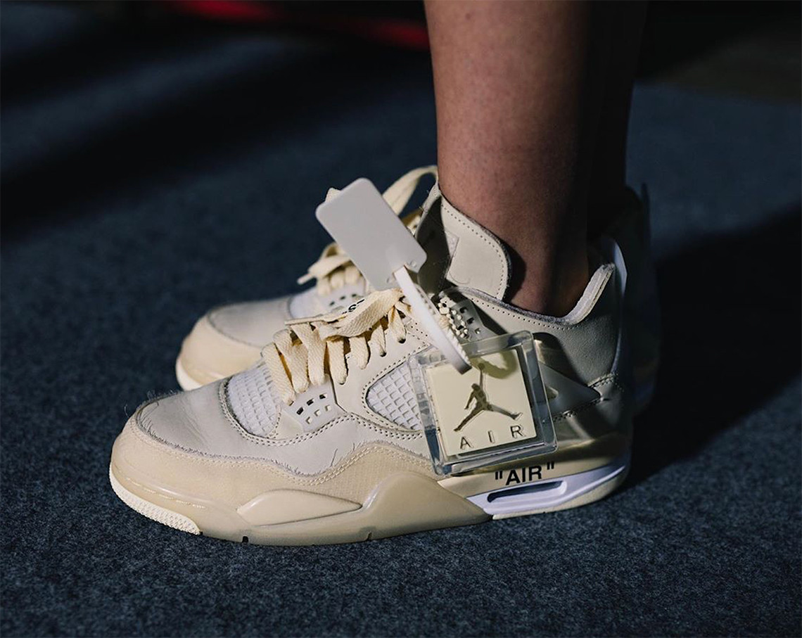 Virgil Abloh subastará un par de zapatillas Off-White x Nike Air Jordan 4's a favor de BLM
