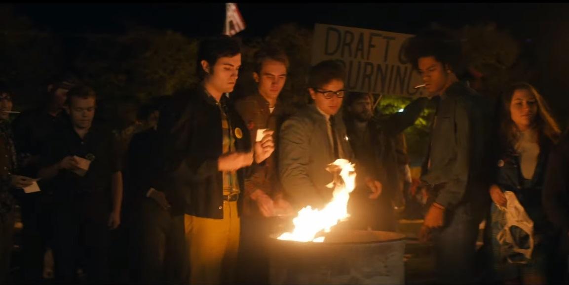 """""""The Trial of the Chicago 7"""": Chicago es el escenario para una lucha política en el primer trailer de la nueva película de Aaron Sorkin"""