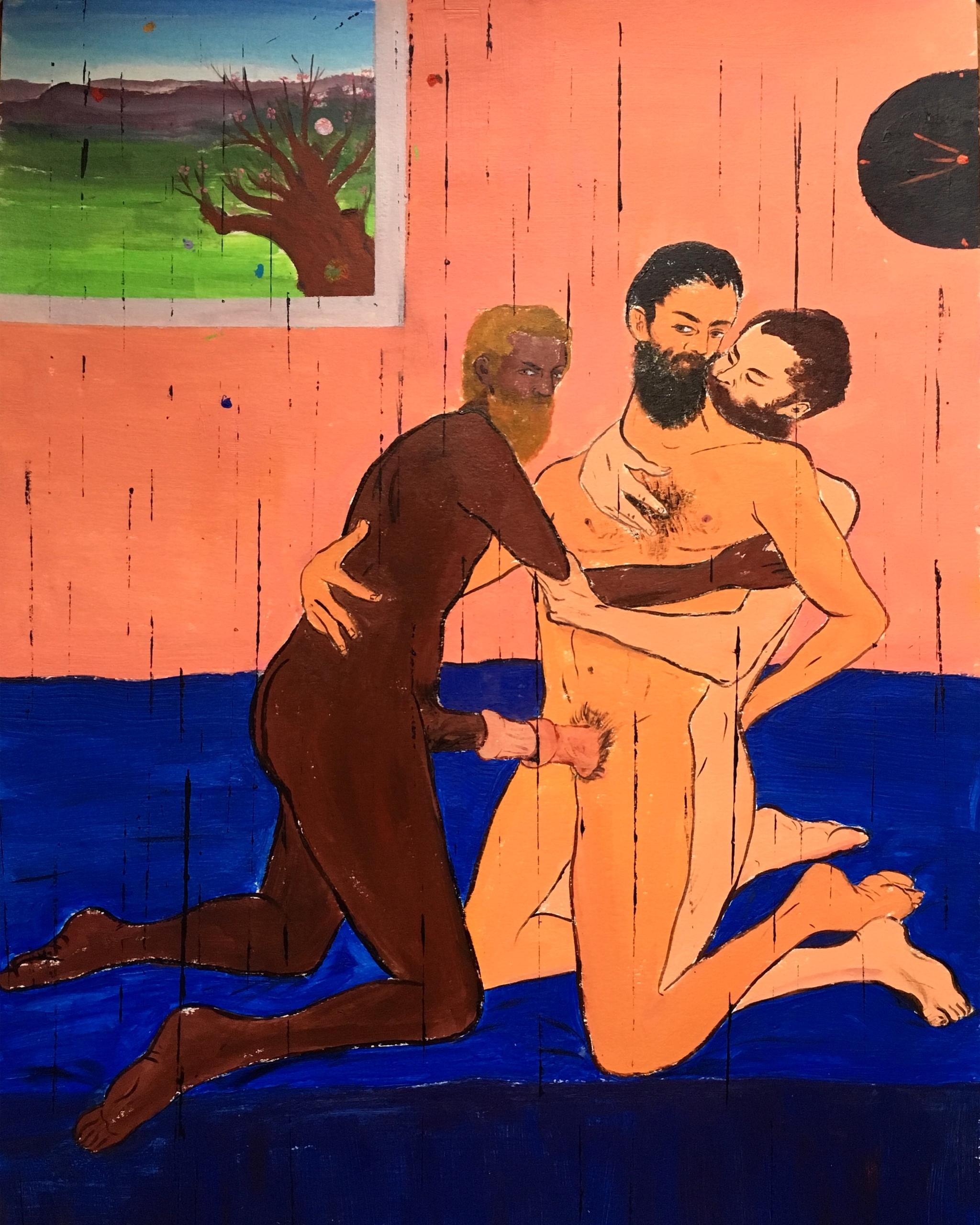 """Q&A con el artista Vahid Sharifian: """"Lo que hago es desvanecer las fronteras de las opiniones radicales sobre el género"""""""