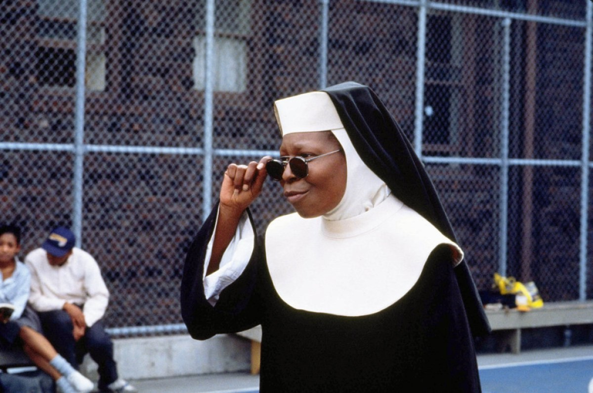 """Whoopi Goldberg volverá a colocarse el hábito para la tercera parte de """"Sister Act"""""""