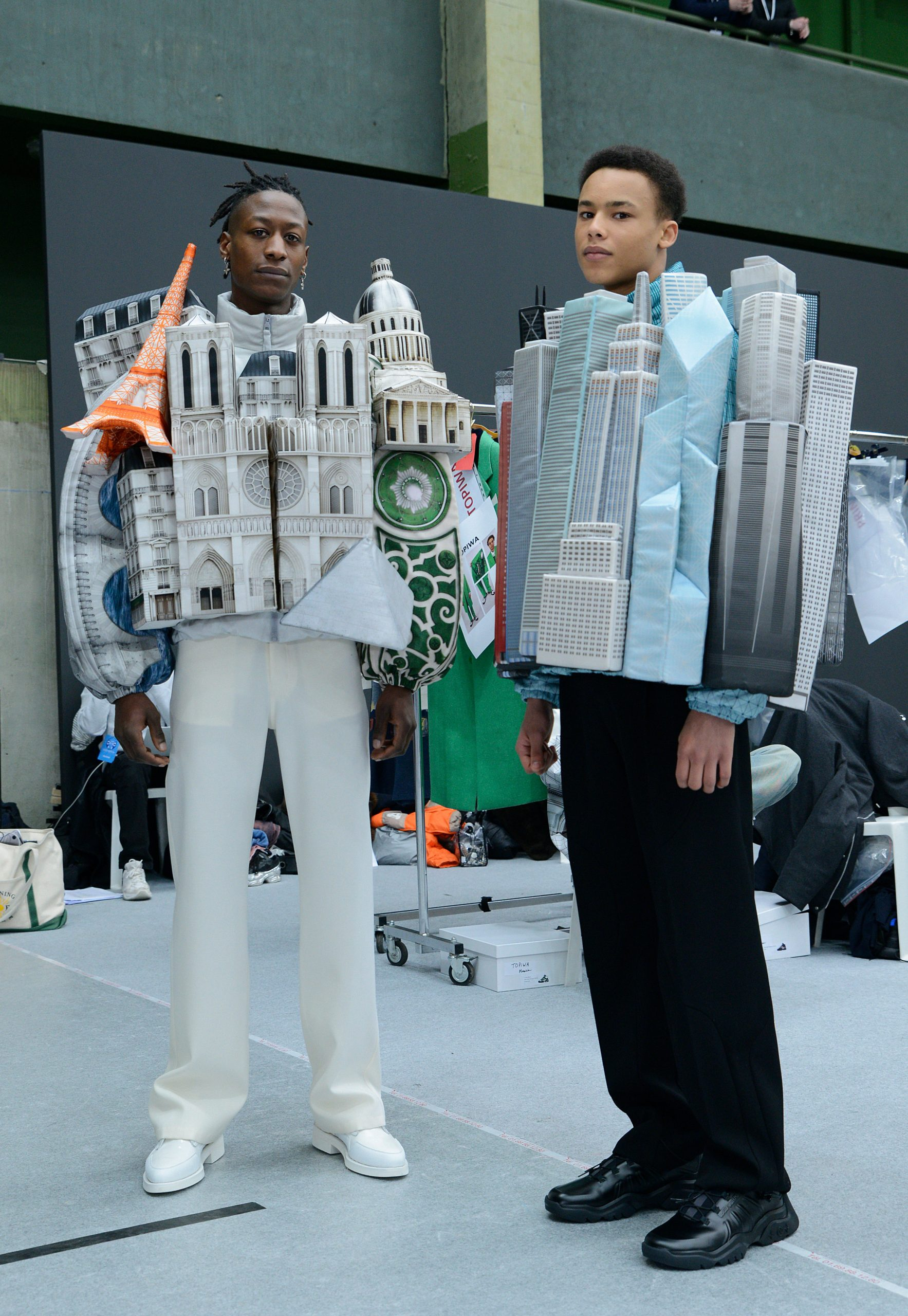 Virgil Abloh crea aquitectura 3D en su nueva colección AW 2021 para Louis Vuitton