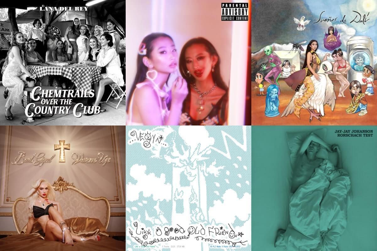 8 nuevos albums para comenzar tu semana