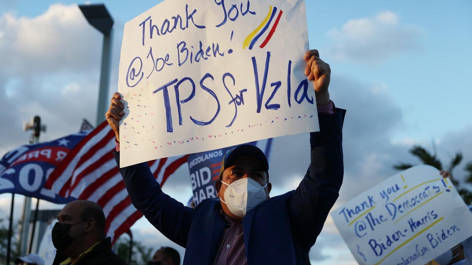 Las claves del TPS, la protección temporal de los venezolanos que residen en Estados Unidos