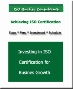 Invest in an ISO certification for business growth.