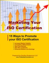 Marketing your ISO certification