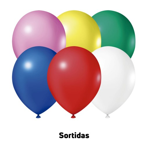Balão Joy Redondo n°5 Sortido