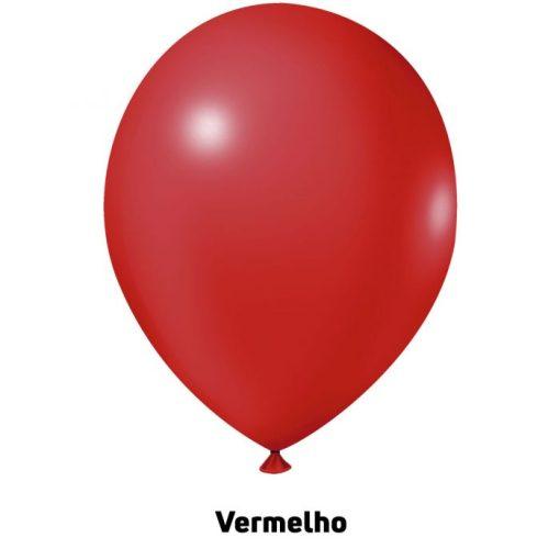 Balão Joy Redondo n°5 Vermelho