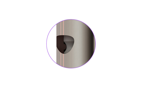 Le Pack Sécu* comprend 2 Paumelles anti-dégondage.