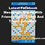 Facebook Messenger Words With Friends