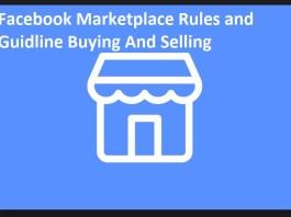 facebook marketplace rules