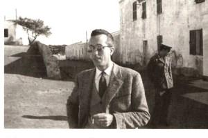 Il Dr. Vindice Silvetti medico condotto dell'Asinara.