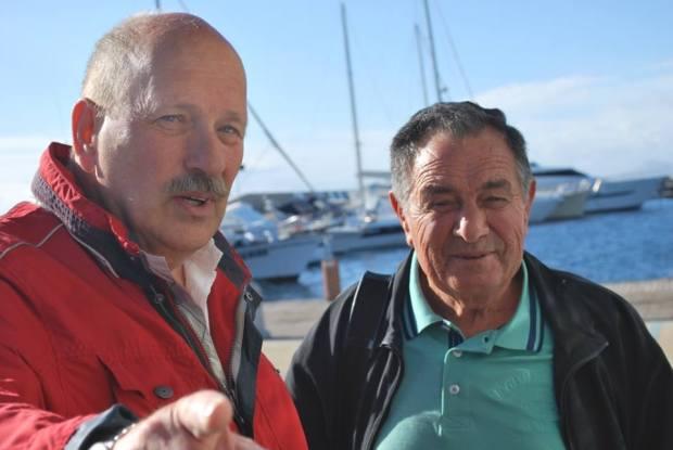 Gianfranco Massidda e Carlo Hendel (foto F. Bruzzichini 2015)