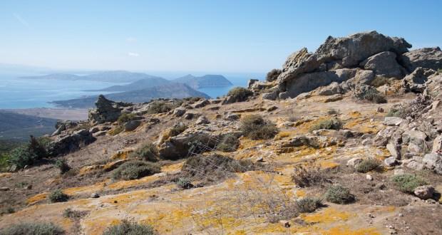 Punta della Scomunica 408 m. s.l.m. (Foto Pier Mario Scano 2011)