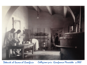 Asinara - antica lavorazione del formaggio