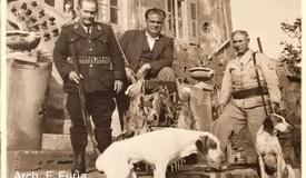 Asinara - M.llo Zedda -Direttore Caddeo - Celestino Furìa - 1947