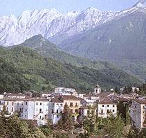 Veduta del centro storico