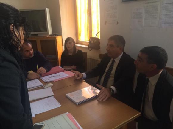 Incontro del Presidente D'Alfonso con l'Amministrazione Comunale