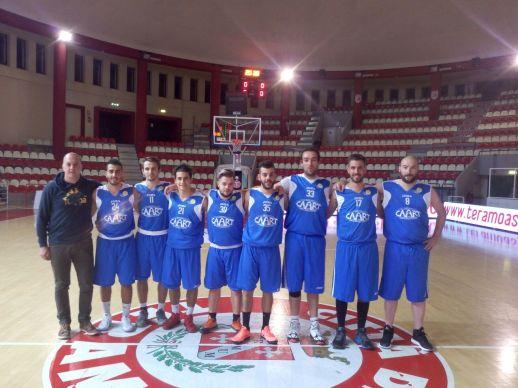 La squadra di basket maschile