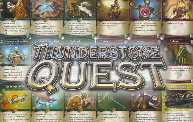 thunderstone quest juego de mesa