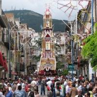 Gesù Nazzareno - Prima Processione del Carro Trionfale - San Giovanni Gemini (AG)