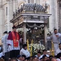 """S. Agata V. e M. – Processione del """"Giro Interno"""" della Città – Catania"""