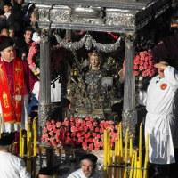 """S. Agata V. e M. – Processione del """"Giro Esterno"""" della Città – Catania"""