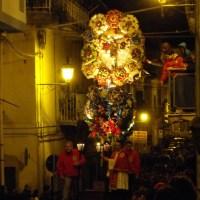 """Processione de' """"U Tronu"""" - Barrafranca (EN)"""
