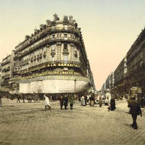 Past & Present: Photographs of Marseille, France 10